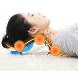 Travesseiro Ortopédico Cervical Massageador Dores Pescoço