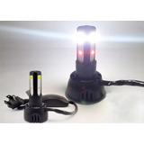Lampada Farol Led Moto Bi-xenon 8000k / 4400 Lumens Branca