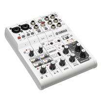 Mesa De Som E Interface Yamaha Ag06 | Lançamento | Usb | Nfe