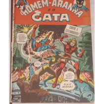O Homem Aranha E A Gata Nº 4 (1ª Série) - Ebal - 1970