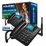 Telefone Celular Rural De Mesa Fixo Gsm Aquário Ca40 3g