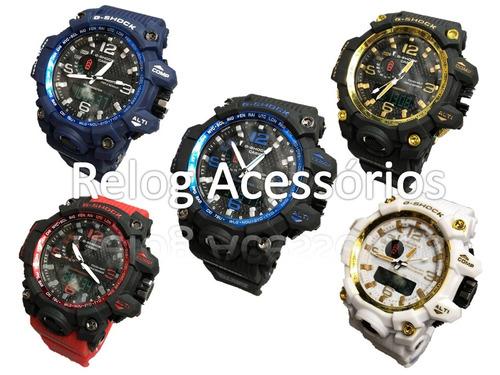 1ef0372750c Kit 05 Relógios G Shock Atacado Com Caixinha