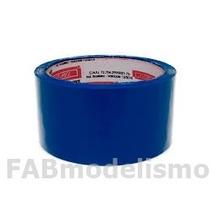6 Fitas P/ Entelagem Azul 48mm X 50 Metros - Fitpel 1ª Linha
