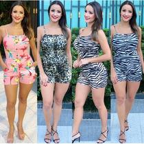 3ee752305 Busca macacão rosa com os melhores preços do Brasil - CompraMais.net ...