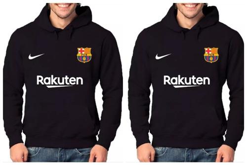 6882b238b4 Kit 2 Blusas Moletom Barcelona Time De Futebol Moleton à venda em ...