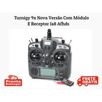 Radio Turnigy 9x Nova Versão  Módulo E Receptor Ia8 Afhds