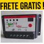Solar Controlador De Carga 10a 12v/24v Carregador
