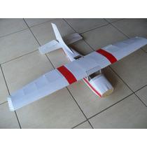 Planta Aeromodelo Cessna 182 Motor 46 A 55 Glow -corte Laser