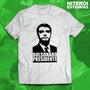 Camisa 100% Algodão - Bolsonaro Presidente
