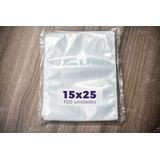 Embalagem A Vácuo 15x25 - 100 Und