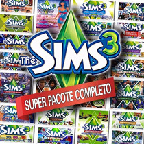 Mega Pacote - The Sims 3 + Todas Expansões Em Português