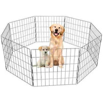 Cercado Cachorro 15 Módulos 1,0m Altura Desmontável Dobrável