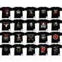 10 Camisetas Banda De Rock Revenda Atacado