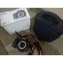 Canon 7d 18 Megapixels + Case + Tripé - Ótimo Estado