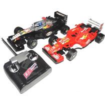 Carrinho Controle Remoto Formula 1 Bateria Recarregavel Font