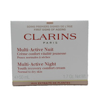 Clarins Noite Multi-ativo Juventude Recovery Comfort Creme (