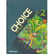 Livro Choice For Teens 2 - Richmond