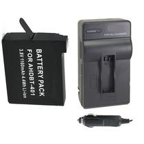 Kit Bateria + Carregador Para Filmadora Gopro Go Pro Hero4