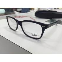 Oculos Para Grau Ray Ban Rb 5228 5014 53 Original P. Entrega