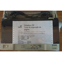 Frete Gratis Epson Lx-300 Semi-nova C/ Nota Fiscal Curitiba