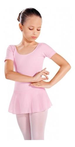 d516825044 Collant Capezio C/ Saia E Manga - Tam 4 Ao 12 - Ballet Jazz. R$ 65.55