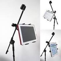 Suporte Pedestal De Microfone Tablet Ipad Samsung Acer Sony