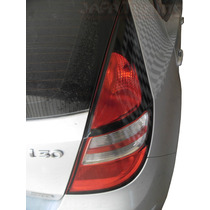 Kit Aplique Mascara Negra P/ Lanterna Traseira Hyundai I30