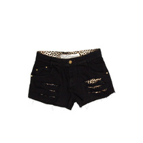 Shorts Degrant Cougar Preto Onça
