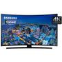 Smart Tv Led 4k Samsung 40  Un40ju6700 Tela Curva Ultra Hd Q
