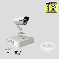 Kit Monitoramento Dvr Stand Alone 4 Canais Jfl 1 Camera