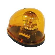 Giroflex Luz De Emergência Sinalizador Amarelo 12v Giratório