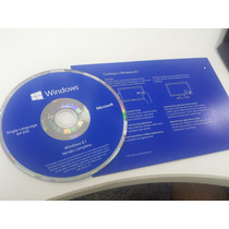 Windows 8.1 Sl X64 Pt-br Oem - Mídia E Selo Holográfico