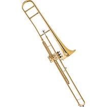 Trombone De Pisto Longo Sib Laqueado Eagle Tv602 Liquida