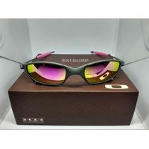 288c55f96 Oculos Oakley Juliet X-metal Rosa + Saquinho + Caixa Oakley à venda ...