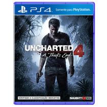 Pré-venda Jogo Uncharted 4: A Thief´s End Para Ps4 - Sony