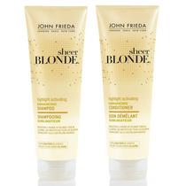 Kit Shampoo + Condic John Frieda Sheer Blonde - Loiro Claro