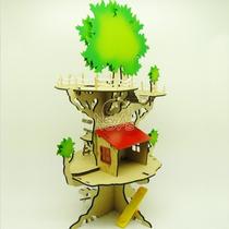 Brinquedo Madeira - Casa Na Àrvore Mod.01