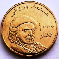 Moeda Curdistao - 1000 Dinares 2006 - Mustafa Barzani - Rara