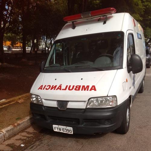 AMBULÂNCIA -PEUGEOT/BOXER 2014 IGUAL A DUCATO