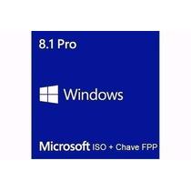 Windows 8.1 Pro/ 8 Pro + Chave Original Vitálicio Fpp 10 Pro