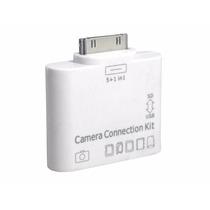 Leitor 5x1 Apple Ipad 1 2 3 Adaptador Usb Cartão Sd Câmera P