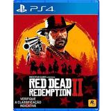 Jogo Red Dead Redemption 2 Playstation 4 - Ps4