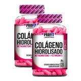 Kit 2x Colágeno Hidrolisado C/ Betacaroteno + Vit C 240caps