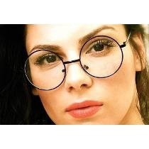 21e97679c Óculos De Grau - Armação Redondo Retro Dourado à venda em Cidade ...