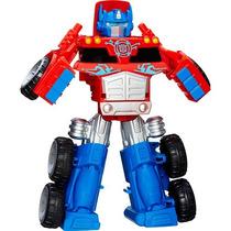 Boneco Robô Transformers E Veículo Rescue Bot Trailer - A