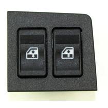 Botão Interruptor Vidro Elétrico Fiat Uno Duplo Ambar