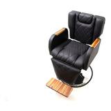 Poltrona Cadeira De Barbeiro Cabeleireiro Lançamento Corte