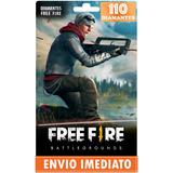 Free Fire 100 Diamantes Recarga Para Conta Garena Free Fire