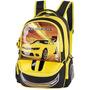Mochila Escolar Carmaro Amarelo Com Chaveiro Infantil