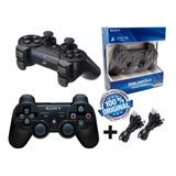 Controle Ps3 Original Sony -  Kit 2 Unid. Manete Promoção